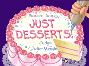 Judge Mendez Gets His Just Desserts